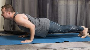 Chaturanga is great to build strong arms and ignite your tapas