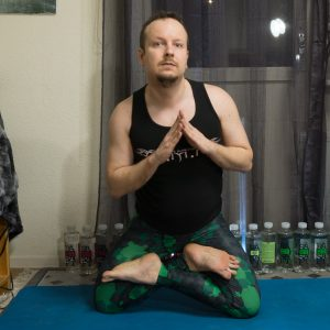 Cowherd Pose in February 1st 2018. Catching up here with a  Cowherd Pose or  Gorakhasana, aka  Lotuspose or  Padmasana on knees. It's still very tough for me, on pair with knee warrior 3.