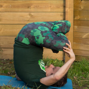 Shoulderstand lotus in November 9th 2017. Shoulderstand lotus was the first leg variation I did in shoulderstand or  Salamba Sarvangasana. Sanskrit designation is  Padma Sarvangasana. I have h