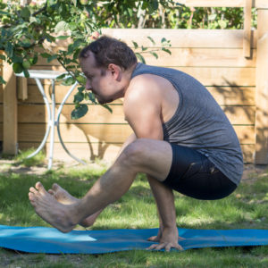 Firefly in June 30th 2018.  Firefly or  Tittibhasana is my nemesis pose, and I aim to make it with extended legs and decent holding time by the end of this year. Harder than flying lizard, flying crow, mayurasana, L-sit, eight angle, epk2 and even epk1 :)