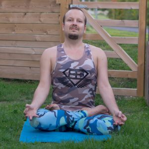 Lotus pose in September 28th 2018. Thank you Carmen, Aislinn and Rachel for this amazing challenge.