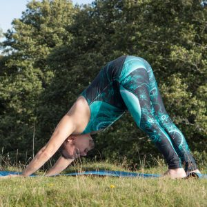 Downward Facing Dog in September 14th 2018. The Adho Mukha Svanasana or Downward Facing Dog is an inversion, as heart is above head. During my practice, I've started to feel when I need to inv