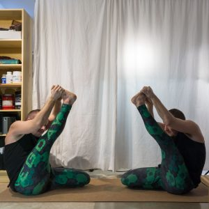 Heron pose or Krounchasana is an important hamstring stretch