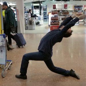 Yoga on Arlanda airport