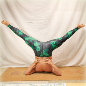 Shoulderstand in March 3rd 2019. Third day is Salamba Sarvangasana or Shoulderstand. Practiced in Primary Series of AshtangaYoga in a sequence with plow pose and ear pressure pose. This pose t