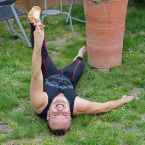 Reclined split in May 21st 2019. Thank you all hosts and sponsors for this challenge, loved celebrating full moon with you.