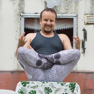 Lotus pose in July 9th 2019. My first though was a good vanilla Padmasana or Lotuspose, but I've found great entries of Navasana balance, so I've bring one too. Don't have space for my arms th