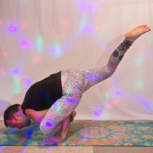 Flying lizard pose in August 20th 2019. Flying lizard pose or Uttana Prasithasana is the easiest one of the Flying Asanas for me, and the only one I can do on a Bosu. I bring one in bosuyoga a