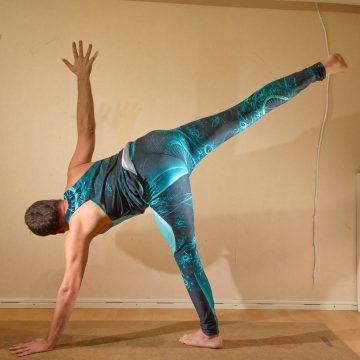 Half Moon Pose in November 11th 2019. I love moon yoga, so my choice for balance pose is the moon themed Ardha Chandrasana or Half Moon Pose. I'm going to celebrate the full moon tomorrow with
