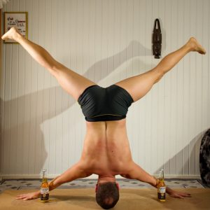Iron Cross Headstand in January 30th 2020. Breakthrough alert! I've made my first stable Iron Cross Headstand or Mukta Hasta Sirsasana C today. By stable I mean a twelve second hold. And I got