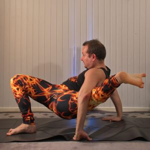 Shiva Pose in March 6th 2020. Kala Bhairavasana or Shiva Pose have always been a very tough pose for me, mostly because of the intensive hamstring stretch. I also use to feel that my butt is v