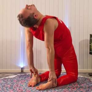 Camel pose in February 29th 2020. Thank you all hosts and sponsors for this challenge!