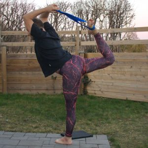 Natarajasana in March 19th 2020. Nice weather today, got an opportunity for outdoor practice :)