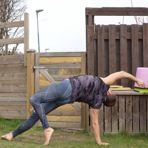 Wild Thing in April 12th 2020. I do always enter Wild Thing or Camatkarasana from downward facing dog.