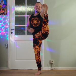 Utthita Hasta Padangusthasana in July 30th 2020. I love the Ashtanga primary series :) So my choice today is Extended hand to big toe pose or Utthita Hasta Padangusthasana. I think all leg mus
