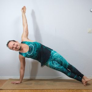Side Plank Pose in September 21st 2020. Yay, I'm in here :) First day is original Side Plank Pose, so I bring Vasisthasana A and B.