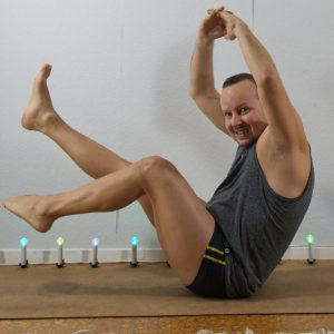 Boatpose in October 10th 2020. Today is Core and I bring two variations of Navasana or Boat pose. Regular and a funky variation.