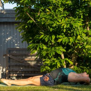Fishpose in July 4th 2021. One week is coming to its end, let's make plans and set goals for the upcoming week. Today is Fishpose or Matsyasana.